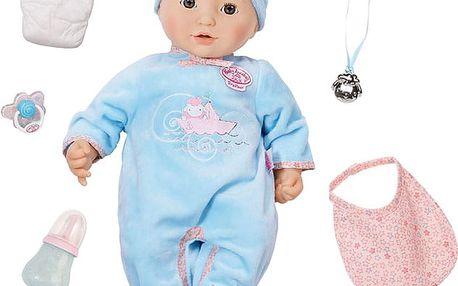 ZAPF Baby Annabell Interaktivní panenka – chlapeček, 43 cm