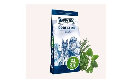 HAPPY DOG Krokette 23/9,5 20 kg