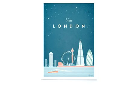 Plakát Travelposter London, A2