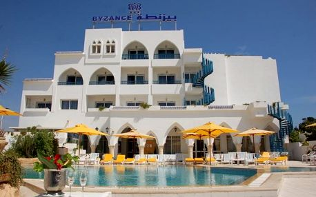Tunisko - Nabeul na 8 dní, all inclusive s dopravou letecky z Prahy 100 m od pláže