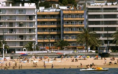 Španělsko - Costa Brava na 5 až 7 dní, plná penze s dopravou letecky z Prahy přímo na pláži