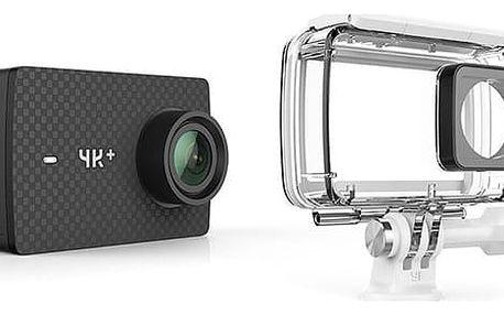 Outdoorová kamera Xiaomi YI 4K+ Action + voděodolný kryt černá (AMI408)