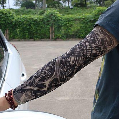 Falešné tetování- rukáv