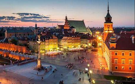Objevte krásy Varšavy během luxusního víkendu v 5 * hotelu. Dítě do 12 r. zdarma