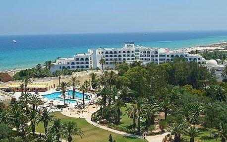 Tunisko - Sousse na 8 dní, all inclusive s dopravou letecky z Prahy přímo na pláži