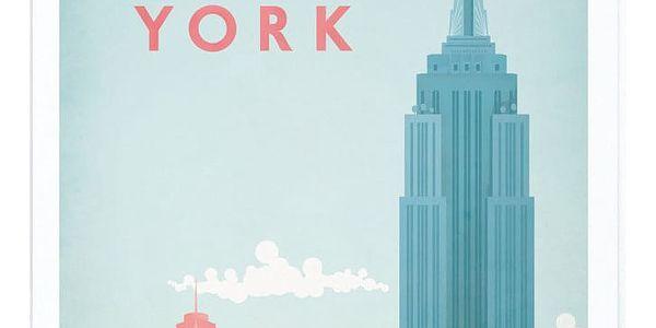 Plakát Travelposter New York, A2