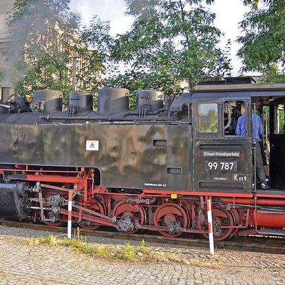 Za krásami Saska - skalní město Jonsdorf, Zittau a cesta parním vlakem