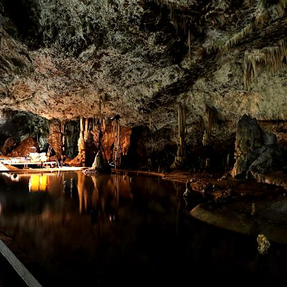 Pobyt v Moravském krasu se vstupem do jeskyně