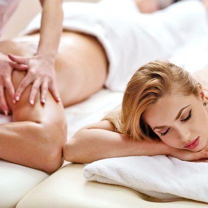 2 hodiny v hotelovém wellness a thajská masáž