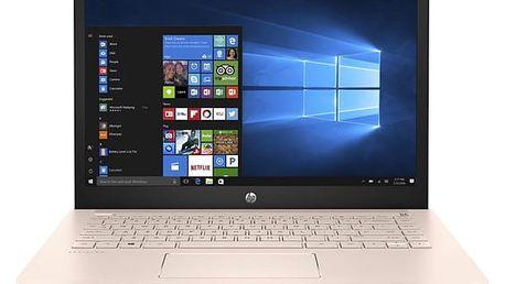 Notebook HP 14-bk012nc (2PV74EA#BCM) stříbrný/růžový Software F-Secure SAFE, 3 zařízení / 6 měsíců + Monitorovací software Pinya Guard - licence na 6 měsíců v hodnotě 1 178 Kč + DOPRAVA ZDARMA