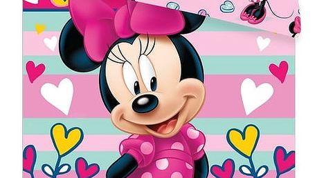 Jerry Fabrics Dětské povlečení Minnie sweet micro, 140 x 200 cm, 70 x 90 cm