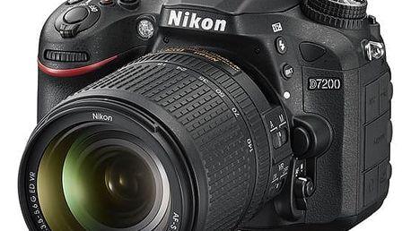 Digitální fotoaparát Nikon D7200 + 18-140 AF-S DX VR