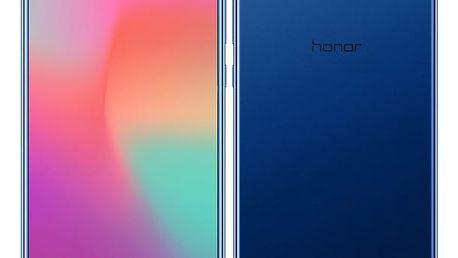 Mobilní telefon Honor View 10 (51092KAK) modrý SIM karta T-Mobile 200Kč Twist Online Internet v hodnotě 200 Kč + DOPRAVA ZDARMA