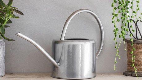 Garden Trading Konev na zalévání Steel, stříbrná barva, kov