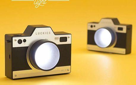 Noční lampička retro Fotoaparát