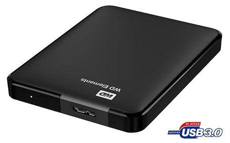 Western Digital Elements Portable 2TB USB 3.0 (WDBU6Y0020BBK-EESN) černý
