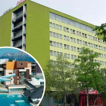 Ubytování v centru Popradu v hotelu Gerlach nedaleko AQUACITY