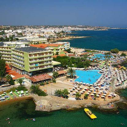 Řecko - Kréta: Hotel Eri Beach & Village rodinné pokoje