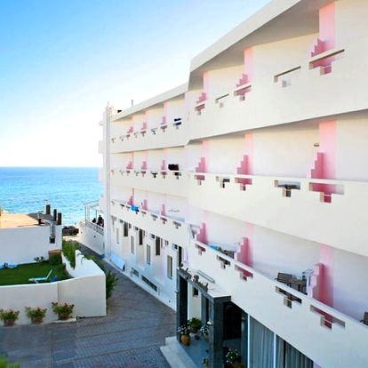 Řecko - Kréta: Hotel Evelyn Beach