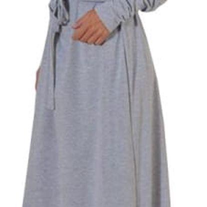 Maxi teplákové šaty - 3 barvy