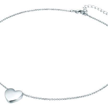 Dámský náhrdelník stříbrné barvy Tassioni Lily