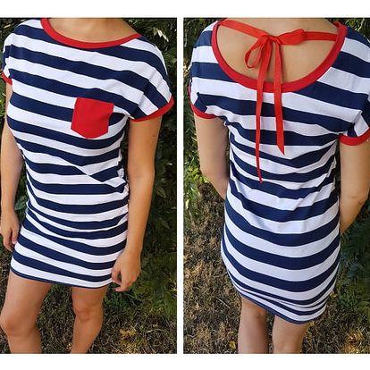 Dámské námořnické šaty RedBow