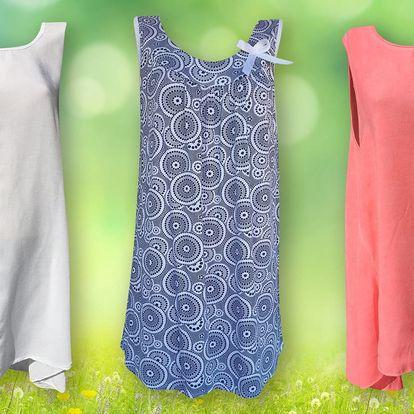 Elegantní dámské tuniky na léto