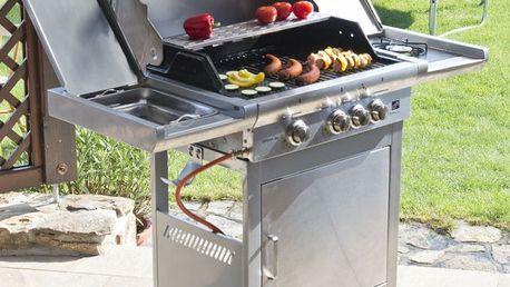 G21 California 23921 Plynový gril BBQ Premium line, 4 hořáky + zdarma redukční ventil