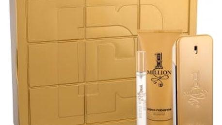 Paco Rabanne 1 Million dárková kazeta pro muže toaletní voda 100 ml + sprchový gel 100 ml + toaletní voda 10 ml