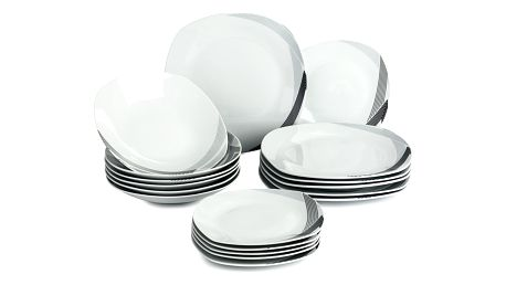 Banquet Trinity sada talířů, 18 ks