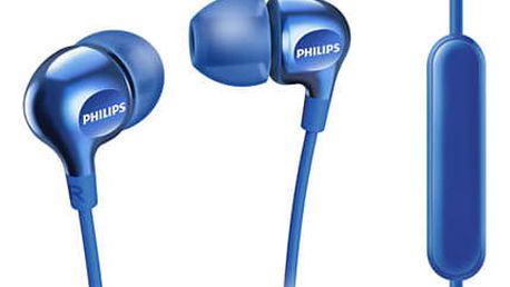 Sluchátka Philips SHE3705BL modrá (SHE3705BL)
