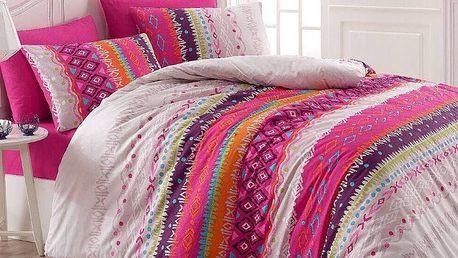 Night in Colours Bavlněné povlečení Melanie růžová