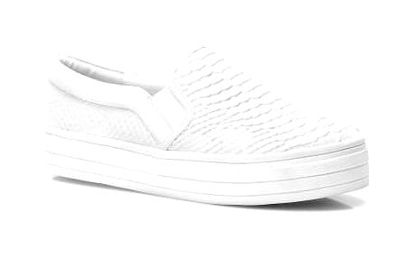 Dámské slip on tenisky Aria 022 bílé