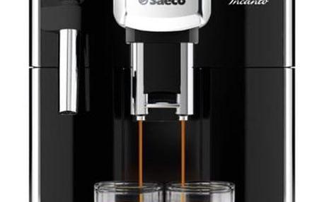 Espresso Saeco Incanto HD8911/09 černé + dárek Káva zrnková Simon Lévelt BIO Uganda 250 g v hodnotě 159 Kč + DOPRAVA ZDARMA