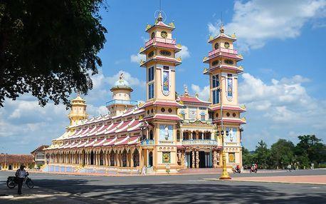 Vietnam: císařské památky a koupání