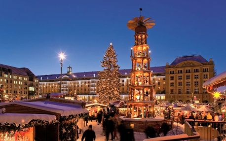 Romantické vánoční Drážďany