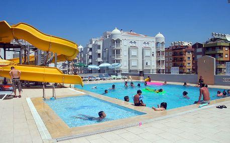 Turecko - Alanya: Hotel Emir Fosse Beach