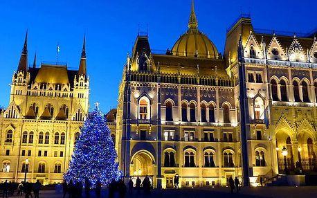 Advent v Budapešti a termály 2018