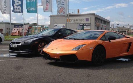 Jízda v Lamborghini Gallardo v Hradci Králové