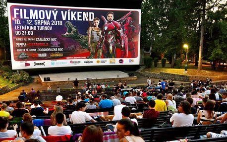 Filmový víkend: 6 blockbusterů pod širým nebem