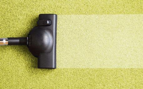 Hloubkové čištění koberců a čalounění pohovek