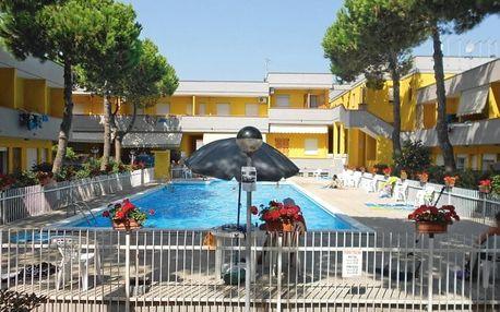 Itálie - Veneto (Benátská riviéra) na 8 až 10 dní, bez stravy s dopravou autobusem nebo vlastní 200 m od pláže