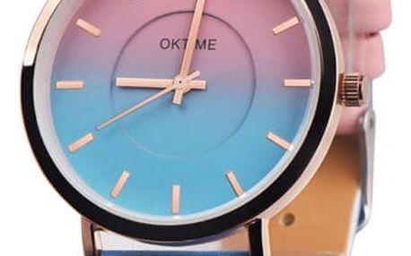 Dámské dvoubarevné hodinky - 8 variant