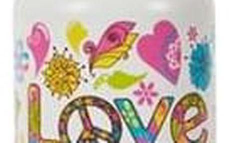 Zdravá láhev 0,7 l, hippies