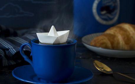 Sítko na čaj papírová loďka