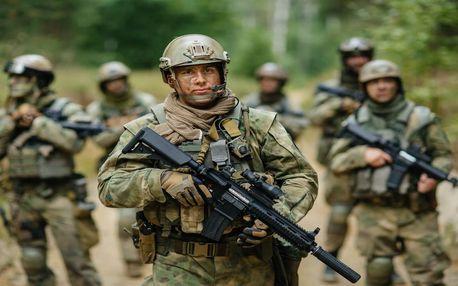 Vojenský výcvik v Army parku Ořechov