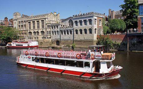 Lodí z Budapešti až do Dunajského ohybu