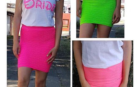 Dámská neon sukně Linda