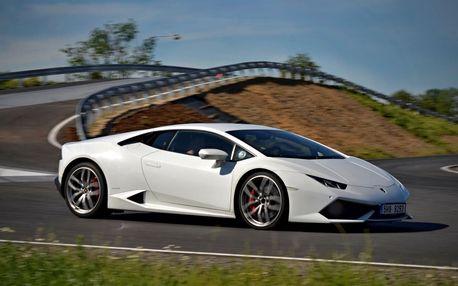 Jízda v Lamborghini Huracan na polygonu