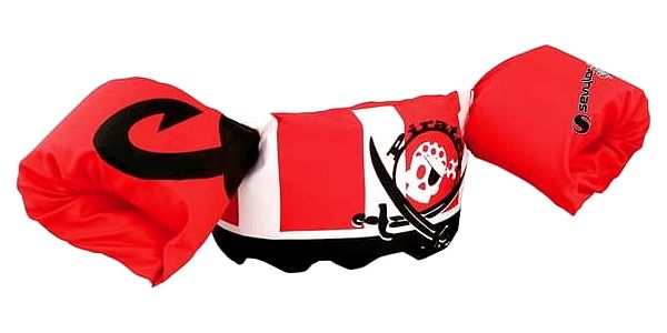 Sevylor Plaváček pirát (nosnost 15-30 kg) červený